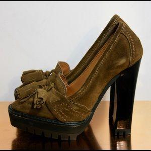 Burberry Prorsum Thomond Tassels Mocassin Shoes